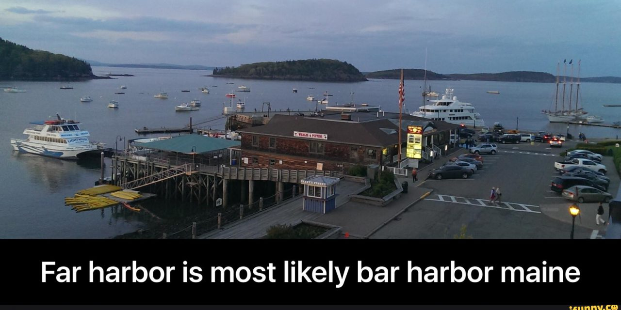 Bar Harbor braces itself for Fallout 4 tourism.