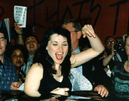 Lucy Lawless Tongue