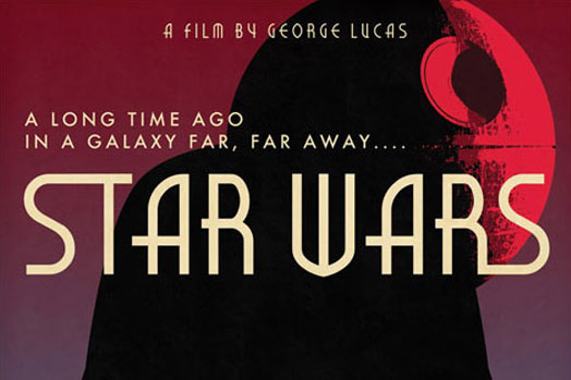 Art Deco Star Wars