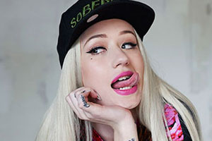 Iggy Azalea Tongue