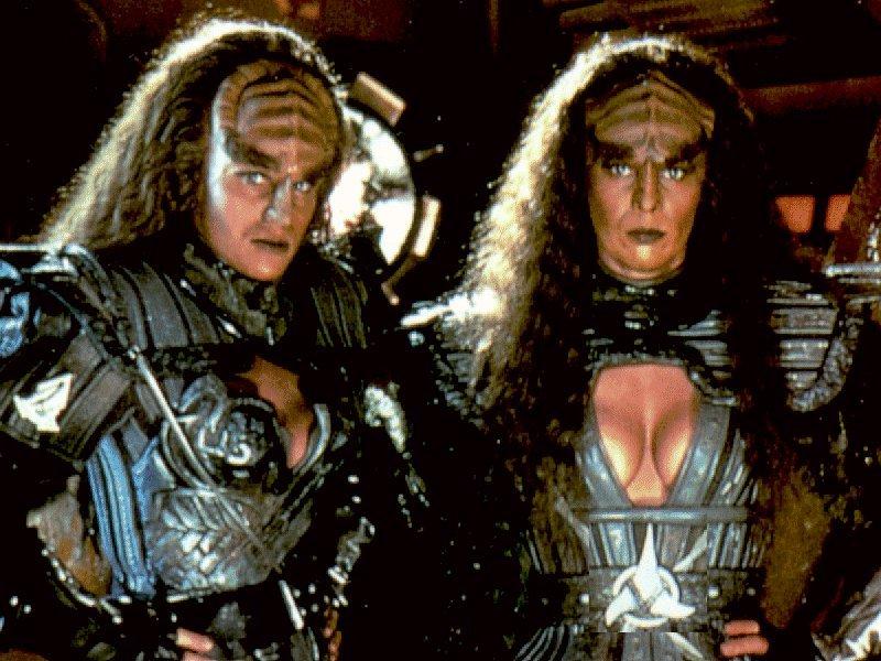 Bondage klingon sex