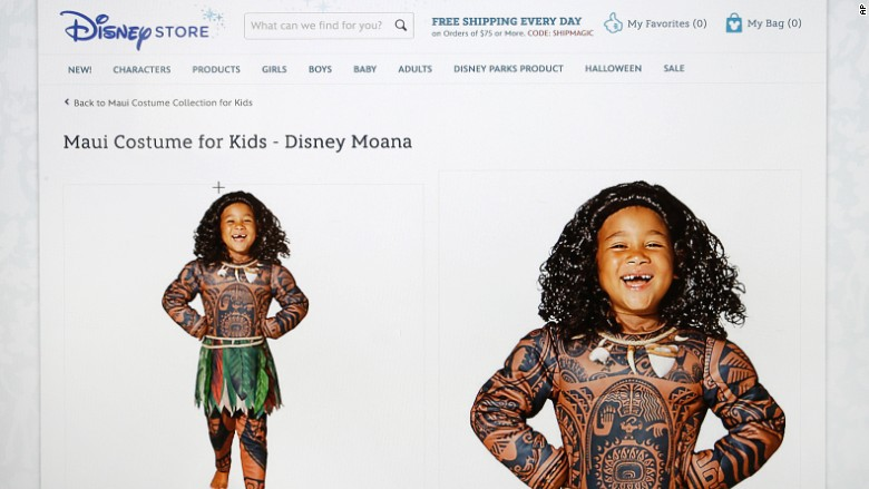 "Disney and Polynesian Demigods – (a.k.a. ""Stop selling skin costumes, Disney!"")"