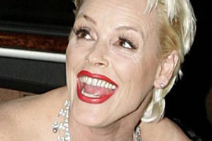 Brigitte Nielsen Tongue