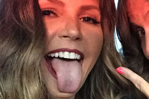 Charisma Carpenter Tongue