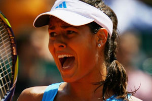Ana Ivanovic Tongue