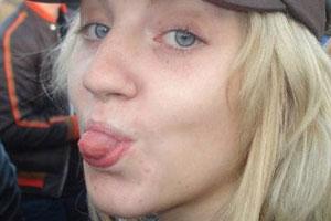 Evanna Lynch Tongue