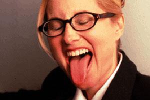 Maureen McCormick Tongue