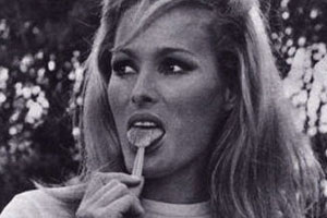 Ursula Andress Tongue