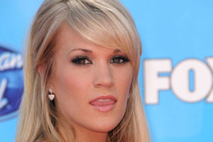 Carrie Underwood Tongue