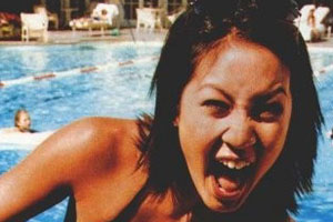 Michelle Kwan Tongue