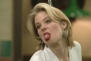 Christina Applegate Tongue