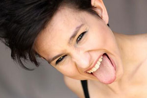 Bex Taylor-Klaus Tongue