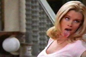 Jenny McCarthy Tongue