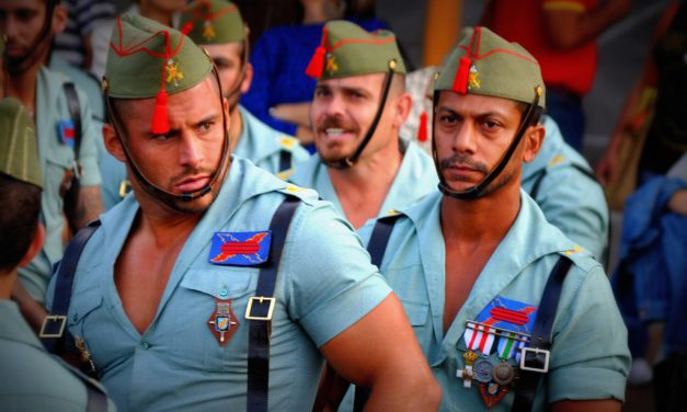 Man Candy: Spanish Legion Edition