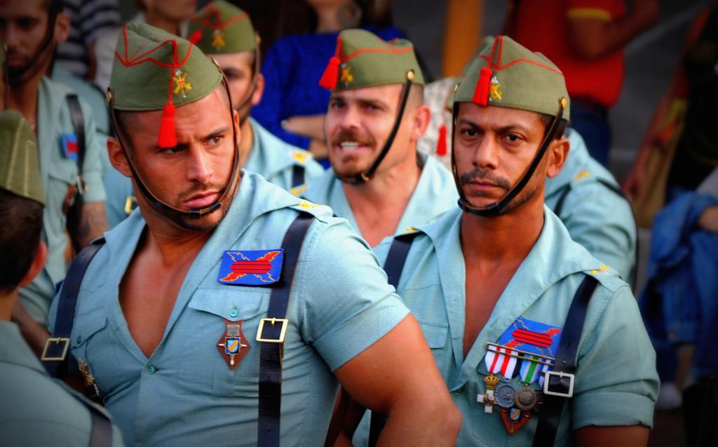 Man Candy: Spanish Legion Edition