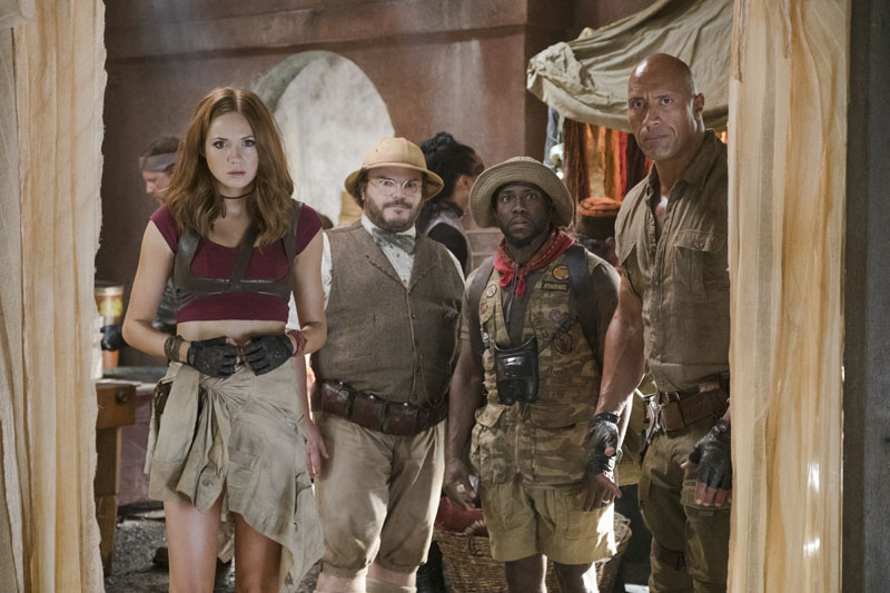 "Jumanji might be a ""must see""."