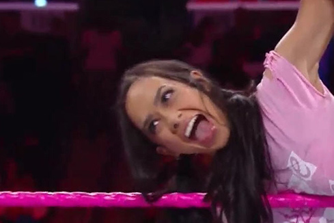 AJ Lee Tongue