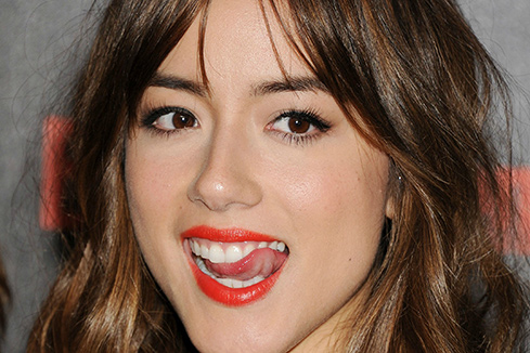 Chloe Bennet Tongue