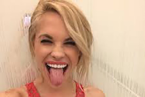 Dani Mathers Tongue