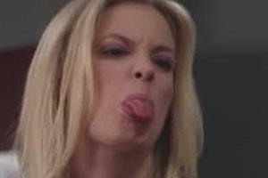 Gillian Jacobs Tongue