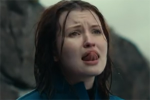 Emily Browning Tongue