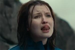 Emily Browning Tongue