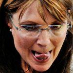 Sarah Palin Tongue