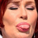 Sharon Osbourne Tongue