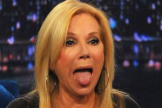 Kathie Lee Gifford Tongue