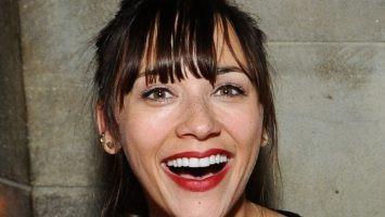 Rashida Jones Tongue