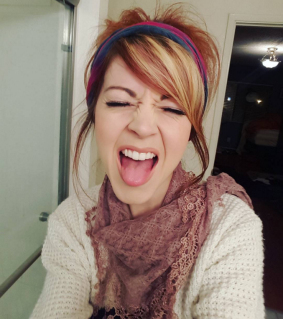 Lindsey Stirling Tongue