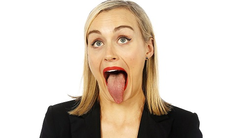 Taylor Schilling Tongue