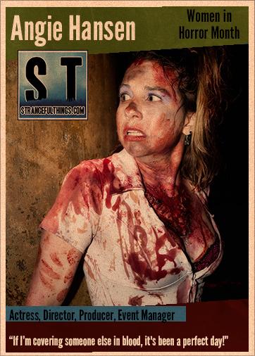 Women in Horror Q&A with Angie Hansen
