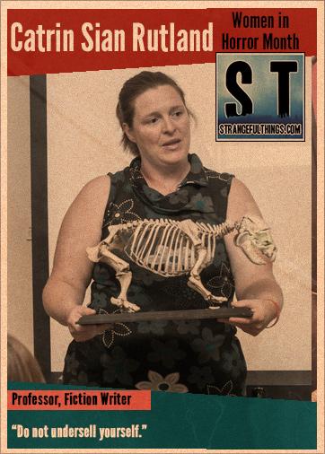 Women in Horror Q&A with Catrin Sian Rutland