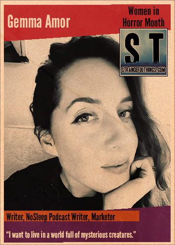 Women in Horror Q&A with Gemma Amor