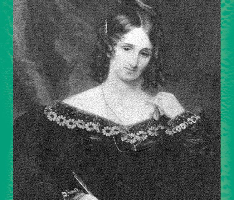 Women in Horror Trading Cards: Mary Shelley