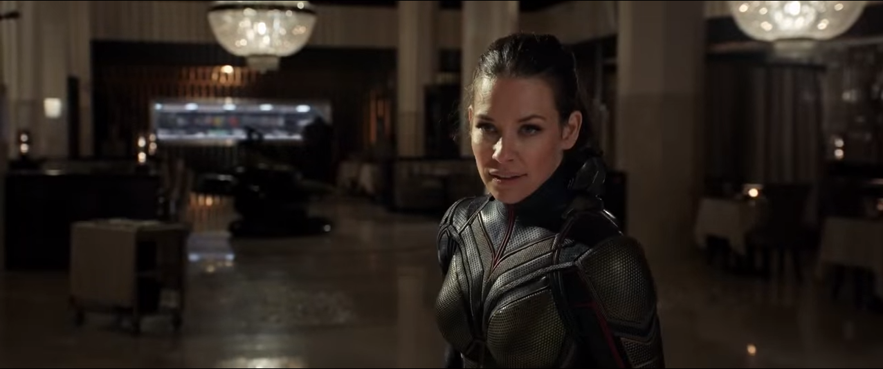 Ant-Man and the Wasp Trailer features Evangeline Lilly, Some Guy