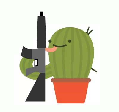 Guns, Human Life, and Cacti.