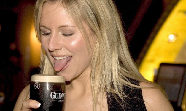 Abi Titmuss Tongue