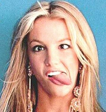 Britney Spears Tongue