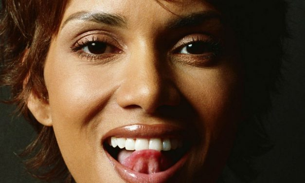 Halle Berry Tongue