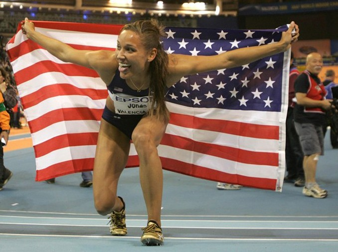 Lolo Jones Olympic Hurdler Tongue - Superficial Gallery
