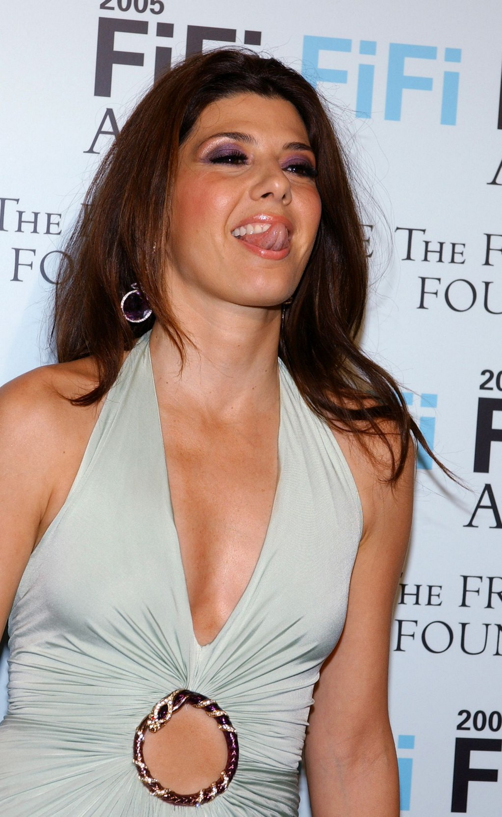 Marisa Tomei Tongue - Superficial Gallery