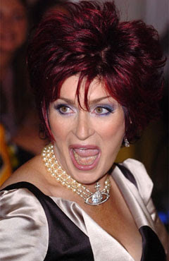 Sharon Osbourne Tongue Superficial Gallery