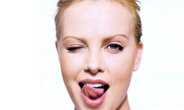 Charlize Theron Tongue