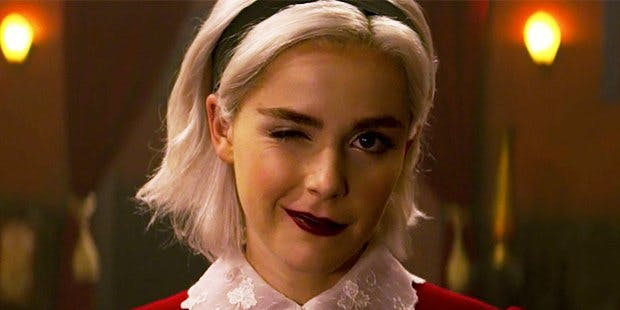 CAOS Part 1 ending - wink from Sabrina.