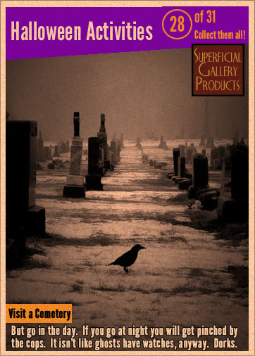 Visit a Cemetery