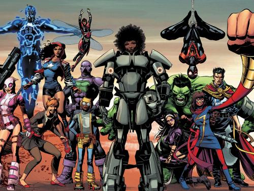 Marvel Blames Lack of Diversity on You