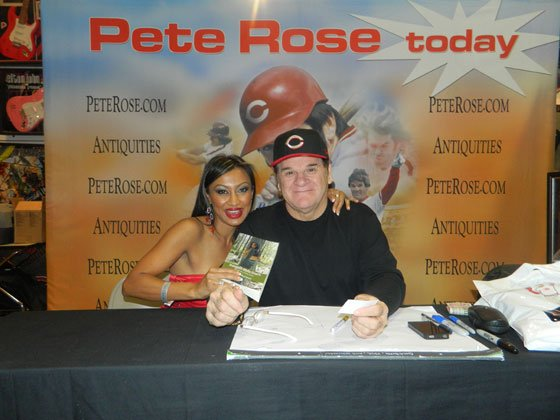 Lucky Sherman and Pete Rose