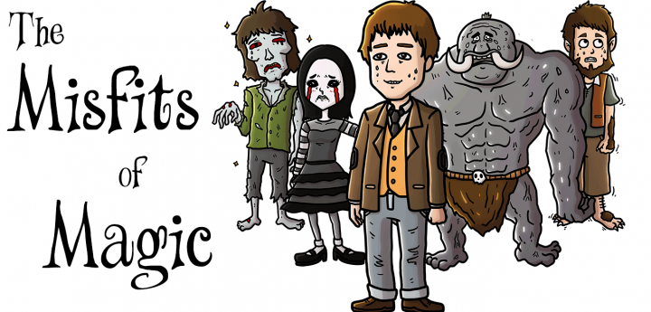 The Misfits of Magic, a Serial Fantasy story by Ron Sparks